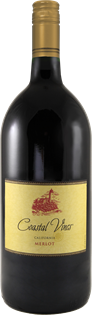 Coastal Vines Merlot 2014 1.50l - Case of 6